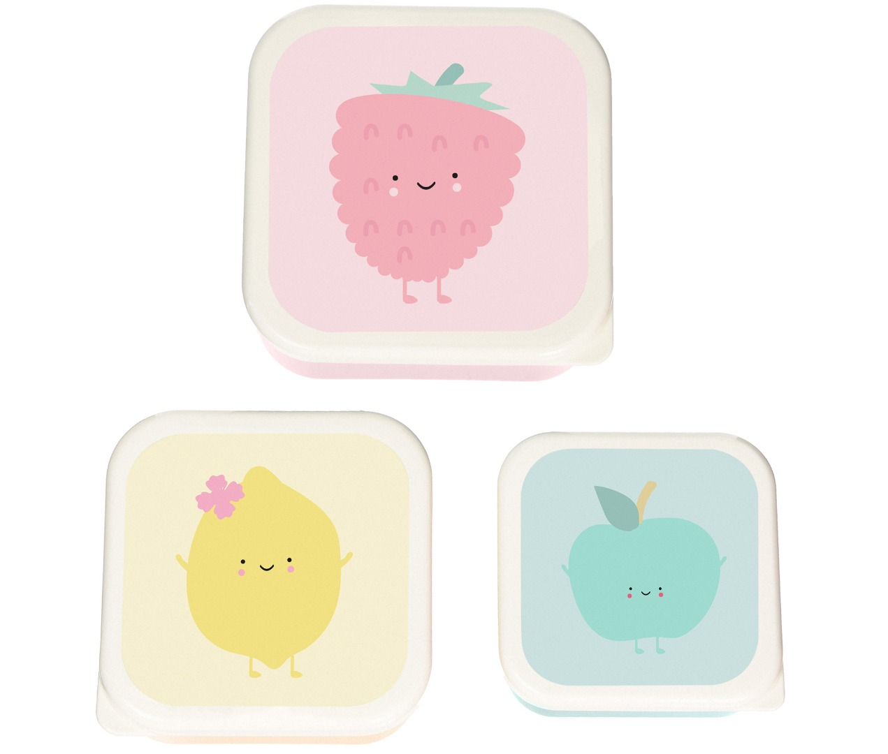lunchbox - raspberry - set 3