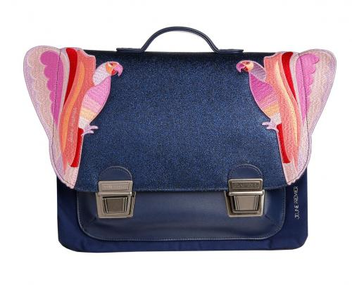 boekentas canvas - love bird - midi