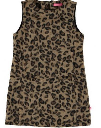 jurk  leopard - outlet