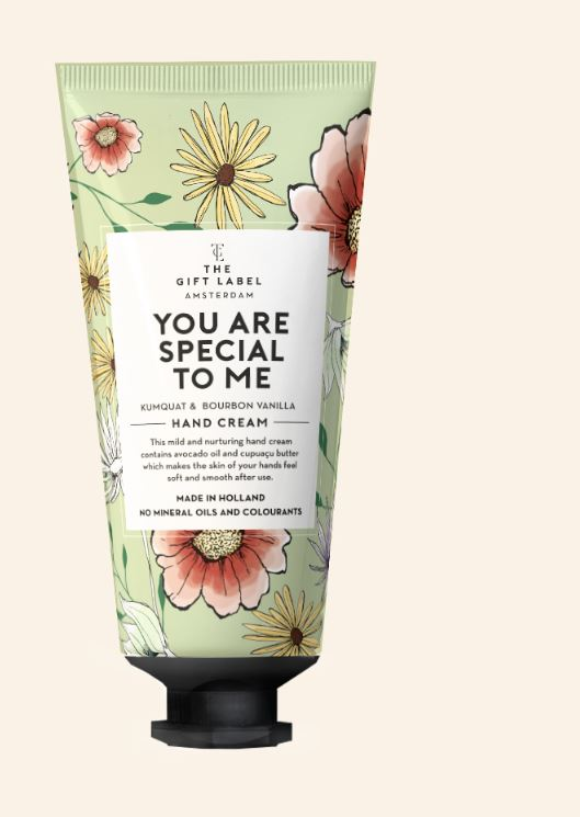 handcreme tube - you are special to me